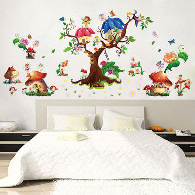 DSU The Decorative Painting of The Bedroom Wall of The Great Tree Spirit Mushroom ChildrenS Nursery SchoolWall Stickers<br>DSU The Decorative Painting of The Bedroom Wall of The Great Tree Spirit Mushroom ChildrenS Nursery School<br><br>Brand: DSU<br>Function: Decorative Wall Sticker, Fridge Sticker, 3D Effect<br>Material: Vinyl(PVC)<br>Package Contents: 1 x Wall Sticker<br>Package size (L x W x H): 68.00 x 9.00 x 9.00 cm / 26.77 x 3.54 x 3.54 inches<br>Package weight: 0.3100 kg<br>Product size (L x W x H): 60.00 x 90.00 x 0.10 cm / 23.62 x 35.43 x 0.04 inches<br>Product weight: 0.2600 kg<br>Quantity: 1<br>Subjects: Fashion,Others,Leisure,Cute,Cartoon<br>Suitable Space: Living Room,Bedroom<br>Type: 3D Wall Sticker