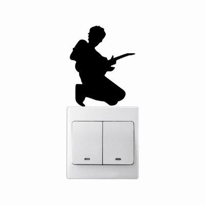 DSU MC-15 Cute music Switch Sticker Cartoon Vinyl Wall Sticker for Kids Room Home DecorHome DecorationWall Stickers<br>DSU MC-15 Cute music Switch Sticker Cartoon Vinyl Wall Sticker for Kids Room Home DecorHome Decoration<br><br>Brand: DSU<br>Function: Light Switch Stickers, 3D Effect<br>Material: Vinyl(PVC)<br>Package Contents: 1 x Wall Sticker<br>Package size (L x W x H): 10.00 x 3.00 x 3.00 cm / 3.94 x 1.18 x 1.18 inches<br>Package weight: 0.1300 kg<br>Product size (L x W x H): 8.90 x 7.20 x 0.10 cm / 3.5 x 2.83 x 0.04 inches<br>Product weight: 0.0800 kg<br>Quantity: 1<br>Subjects: Fashion,Others<br>Suitable Space: Living Room,Bedroom<br>Type: Plane Wall Sticker