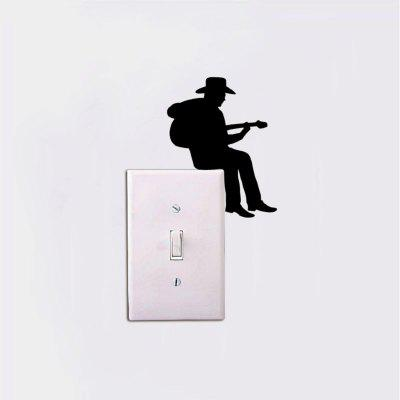 DSU MC-17 Cute Music Switch Sticker Cartoon Vinyl Wall Sticker for Kids Room Home DecorHome DecorationWall Stickers<br>DSU MC-17 Cute Music Switch Sticker Cartoon Vinyl Wall Sticker for Kids Room Home DecorHome Decoration<br><br>Brand: DSU<br>Function: 3D Effect, Light Switch Stickers, Decorative Wall Sticker, Clock Sticker<br>Material: Vinyl(PVC)<br>Package Contents: 1 x Wall Sticker<br>Package size (L x W x H): 15.00 x 3.00 x 3.00 cm / 5.91 x 1.18 x 1.18 inches<br>Package weight: 0.1400 kg<br>Product size (L x W x H): 10.90 x 8.60 x 0.10 cm / 4.29 x 3.39 x 0.04 inches<br>Product weight: 0.0900 kg<br>Quantity: 1<br>Subjects: People,Fashion,Others,Cartoon<br>Suitable Space: Living Room,Bedroom,Dining Room,Cafes<br>Type: Plane Wall Sticker