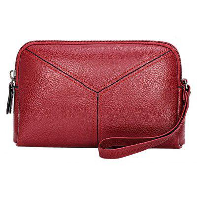 Ladies New Fashion Zippers Wallet Clutch Small Handbag for Women