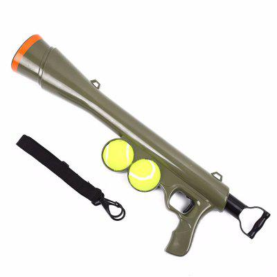 Dog Tennis Ball Toy Launcher for Pet Training Throw Fetch Play Outdoor