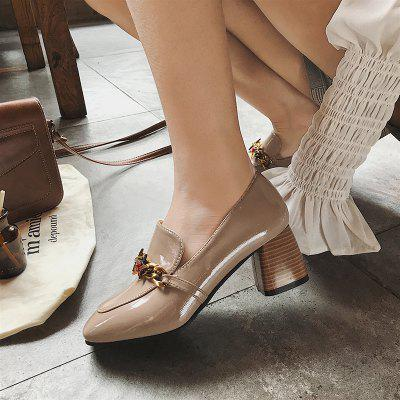 Antique Fashion High Heel ShoesWomens Pumps<br>Antique Fashion High Heel Shoes<br><br>Available Size: 35.36.37.38.39<br>Closure Type: Slip-On<br>Embellishment: Metal<br>Gender: For Women<br>Outsole Material: Rubber<br>Package Contents: 1 x shoes ?pair?<br>Pattern Type: Others<br>Season: Summer, Spring/Fall<br>Toe Shape: Square Toe<br>Toe Style: Closed Toe<br>Upper Material: PU<br>Weight: 1.0800kg