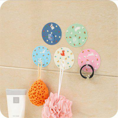 5PCS Round Magic Stick Strong Sticky HookHooks &amp; Racks<br>5PCS Round Magic Stick Strong Sticky Hook<br><br>Functions: Home<br>Materials: Silicone<br>Package Contents: 5 x Strong sticky hooks<br>Package Size(L x W x H): 10.00 x 8.00 x 2.00 cm / 3.94 x 3.15 x 0.79 inches<br>Package weight: 0.0300 kg<br>Types: Hooks and Racks