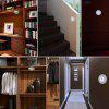 LED Creative Human Body Infrared Induction Wardrobe Cabinets Bathroom Lighting of High Brightness Energy-Saving Light - WHITE