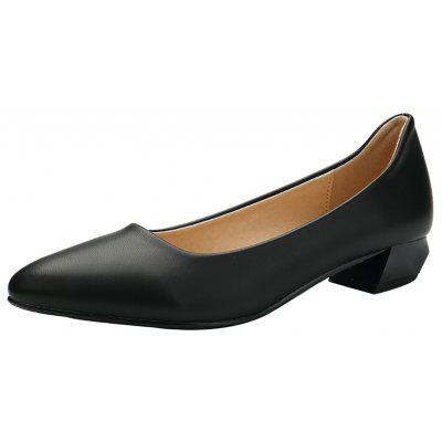 YALNN Spring Slip-on Basic Women Pumps Low Square Heels Pointed Toe for Concise ShoesWomens Pumps<br>YALNN Spring Slip-on Basic Women Pumps Low Square Heels Pointed Toe for Concise Shoes<br><br>Heel Height: 3cm<br>Heel Height Range: Med(1.75-2.75)<br>Heel Type: Chunky Heel<br>Insole Material: Latex<br>Lining Material: PU<br>Occasion: Office &amp; Career<br>Outsole Material: TPR<br>Package Contents: 1 x Shoes Pair<br>Pumps Type: Basic<br>Season: Summer, Winter, Spring/Fall<br>Shoe Width: Medium(B/M)<br>Toe Shape: Pointed Toe<br>Toe Style: Closed Toe<br>Upper Material: PU<br>Weight: 0.8064kg