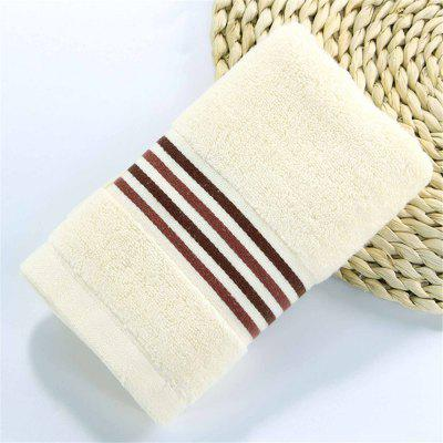 Muchun Stripe Jacquard Satin Superior Cotton Towel for Adults Kids Soft Rectangle Towels