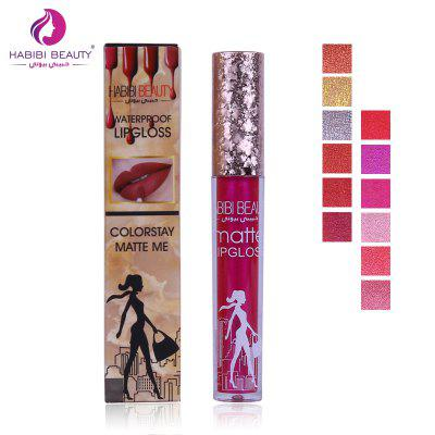 New 2018 12 Kinds of Metal Colors Waterproof Matte LipglossLip Makeup<br>New 2018 12 Kinds of Metal Colors Waterproof Matte Lipgloss<br><br>Feature: Waterproof / Water-Resistant<br>Net weight(g/ml): 3ml<br>Package Content: 1 X Lipgloss<br>Package size (L x W x H): 13.00 x 8.00 x 9.00 cm / 5.12 x 3.15 x 3.54 inches<br>Package weight: 0.3800 kg