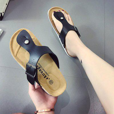 """Set Refers To The Flat Sand Beach Slippers AngleSlippers &amp; Flip-Flops<br>Set Refers To The Flat Sand Beach Slippers Angle<br><br>Available Size: 35 36  37 38 39 40 41 42 43 44<br>Embellishment: Rivet<br>Gender: For Women<br>Heel Height Range: Flat(0-0.5"""")<br>Heel Type: Low Heel<br>Insole Material: PU<br>Leather Style: Patent Leather<br>Lining Material: Polyester<br>Outsole Material: Rubber<br>Package Contents: 1 x Shoes (pair)<br>Pattern Type: Solid<br>Season: Spring/Fall, Summer<br>Shoe Width: Medium(B/M)<br>Slipper Type: Outdoor<br>Style: Leisure<br>Technology: Adhesive<br>Upper Material: PU<br>Weight: 1.0560kg"""