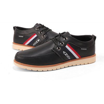 Mens Casual Business Leather ShoesMen's Oxford<br>Mens Casual Business Leather Shoes<br><br>Available Size: 39-44<br>Closure Type: Lace-Up<br>Embellishment: Ribbons<br>Gender: For Men<br>Outsole Material: Rubber<br>Package Contents: 1 x Shoes (pair)<br>Pattern Type: Solid<br>Season: Spring/Fall<br>Shoe Width: Medium(B/M)<br>Toe Shape: Round Toe<br>Toe Style: Closed Toe<br>Upper Material: PU<br>Weight: 1.7472kg