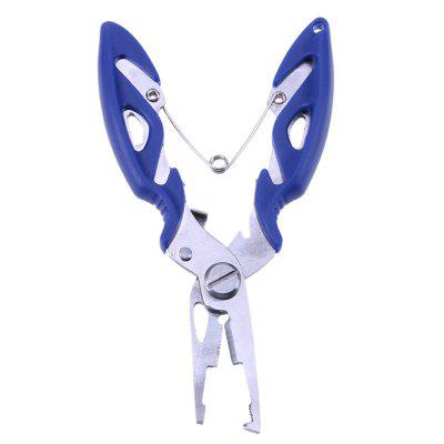 Multi Function Stainless Steel Pliers Curved Nose Scissors Fishing Line CuttersFishing Tools and Accessories<br>Multi Function Stainless Steel Pliers Curved Nose Scissors Fishing Line Cutters<br><br>Color: Blue,Orange<br>Package Contents: 1 x  Fishing Pliers<br>Package size (L x W x H): 15.00 x 8.00 x 3.50 cm / 5.91 x 3.15 x 1.38 inches<br>Package weight: 0.0600 kg<br>Product size (L x W x H): 12.50 x 5.00 x 2.40 cm / 4.92 x 1.97 x 0.94 inches<br>Product weight: 0.0580 kg