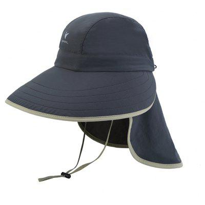 Vepeal Outdoor Multi-Function Breathable Anti Ultraviolet Wide Brimmed Hat