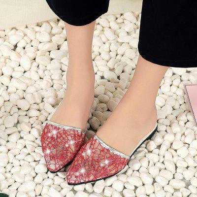 Fashion Classic Casual Womens ShoesSlippers &amp; Flip-Flops<br>Fashion Classic Casual Womens Shoes<br><br>Available Size: 35 36 37 38 39 40<br>Gender: For Women<br>Heel Type: Flat Heel<br>Package Contents: 1?shoes(pair)<br>Pattern Type: Solid<br>Season: Spring/Fall, Summer<br>Slipper Type: Outdoor<br>Style: Fashion<br>Upper Material: PU<br>Weight: 0.8580kg