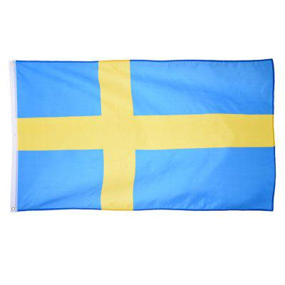 Fans Games Swedish Flag on The 4TH 90 x 150CM