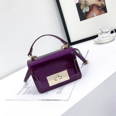 Patent Leather Slanted with Simple Lock Shoulder BagCrossbody Bags<br>Patent Leather Slanted with Simple Lock Shoulder Bag<br><br>Closure Type: Cover<br>Gender: For Women<br>Handbag Type: Crossbody bag<br>Interior: Interior Zipper Pocket, Cell Phone Pocket, Interior Slot Pocket<br>Main Material: PU<br>Occasion: Versatile<br>Package Contents: 1 x Bag<br>Package size (L x W x H): 18.00 x 9.00 x 14.00 cm / 7.09 x 3.54 x 5.51 inches<br>Package weight: 0.3300 kg<br>Pattern Type: Solid<br>Product size (L x W x H): 17.00 x 8.00 x 13.00 cm / 6.69 x 3.15 x 5.12 inches<br>Style: Fashion