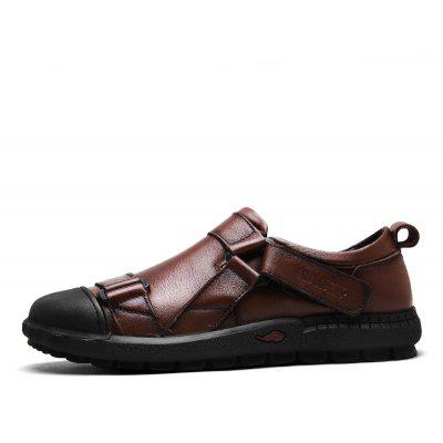 ZEACAVA Male Casual Soft Doug Boat ShoesMen's Oxford<br>ZEACAVA Male Casual Soft Doug Boat Shoes<br><br>Available Size: 39-44<br>Closure Type: Hook / Loop<br>Embellishment: Buckle<br>Gender: For Men<br>Outsole Material: Rubber<br>Package Contents: 1xShoes(Pair)<br>Pattern Type: Solid<br>Season: Spring/Fall<br>Toe Shape: Round Toe<br>Toe Style: Closed Toe<br>Upper Material: Full Grain Leather<br>Weight: 1.2000kg