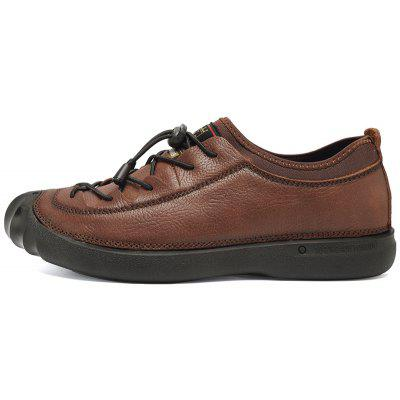 ZEACAVA Mens Outdoor Leather Casual ShoesMen's Sneakers<br>ZEACAVA Mens Outdoor Leather Casual Shoes<br><br>Available Size: 39-44<br>Closure Type: Lace-Up<br>Embellishment: Ruched<br>Gender: For Men<br>Outsole Material: Rubber<br>Package Contents: 1xShoes(Pair)<br>Pattern Type: Solid<br>Season: Spring/Fall<br>Toe Shape: Round Toe<br>Toe Style: Closed Toe<br>Upper Material: Full Grain Leather<br>Weight: 1.2000kg