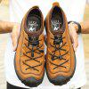 ZEACAVA Men's Outdoor Leather Casual Shoes - LIGHT BROWN