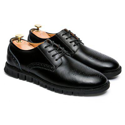 Men Casual Wear Outsole Leather ShoesFormal Shoes<br>Men Casual Wear Outsole Leather Shoes<br><br>Available Size: 38-44<br>Closure Type: Lace-Up<br>Embellishment: None<br>Gender: For Men<br>Occasion: Casual<br>Outsole Material: Rubber<br>Package Contents: 1xShoes pair<br>Pattern Type: Solid<br>Season: Spring/Fall<br>Toe Shape: Round Toe<br>Toe Style: Closed Toe<br>Upper Material: Leather<br>Weight: 1.2000kg