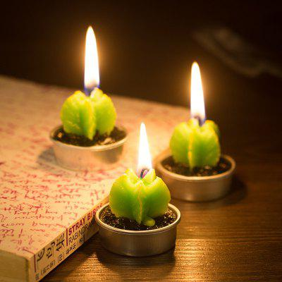 Decorative Cactus Candles Tea Light Candles 6 PcsCandle &amp; Candle Holders<br>Decorative Cactus Candles Tea Light Candles 6 Pcs<br><br>Package Contents: 6 x Candle<br>Package size (L x W x H): 5.00 x 3.00 x 7.00 cm / 1.97 x 1.18 x 2.76 inches<br>Package weight: 0.2500 kg
