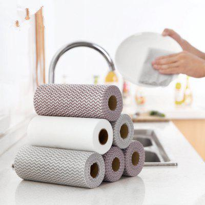 50pcs/roll Non-stick Oil Water Wipes Disposable Wash Towel CleaningOther Kitchen Accessories<br>50pcs/roll Non-stick Oil Water Wipes Disposable Wash Towel Cleaning<br><br>Material: Microfiber<br>Package Contents: 50 x Cleaning Towel<br>Package size (L x W x H): 34.00 x 19.00 x 6.00 cm / 13.39 x 7.48 x 2.36 inches<br>Package weight: 0.0500 kg<br>Type: Other Kitchen Accessories