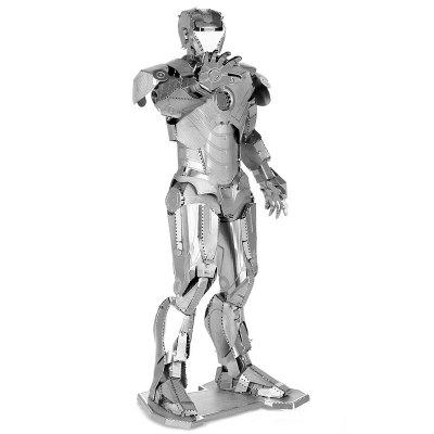3D Metal Miniature DIY Figure ABS Building BlockBlock Toys<br>3D Metal Miniature DIY Figure ABS Building Block<br><br>Completeness: Semi-finished Product<br>Gender: Unisex<br>Materials: Metal<br>Package Contents: 1 x 3D Metal  Figure Model, 1 x English Instruction Operation<br>Package size: 12.50 x 12.50 x 0.50 cm / 4.92 x 4.92 x 0.2 inches<br>Package weight: 0.0900 kg<br>Product size: 4.50 x 3.10 x 8.80 cm / 1.77 x 1.22 x 3.46 inches<br>Product weight: 0.0700 kg<br>Stem From: Europe and America<br>Suitable Age: Kid<br>Theme: Movie and TV<br>Type: Building