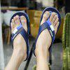 Men Environmental Beach Flip Flops - BLUE
