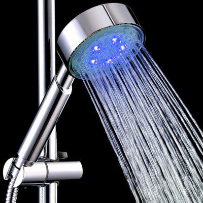 BRELONG LED Temperature Control Color Shower Bathroom Shower Light