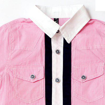 Girl  Cotton Comfortable and Breathable Casual Lapel ShirtGirls tops &amp; T-shirts<br>Girl  Cotton Comfortable and Breathable Casual Lapel Shirt<br><br>Collar: Turn-down Collar<br>Elasticity: Micro-elastic<br>Fabric Type: Broadcloth<br>Gender: Girls<br>Head Drawstring: Without<br>Material: Cotton<br>Neck Drawstring: Without<br>Package Contents: 1 x Shirt<br>Pattern Type: Striped<br>Season: Spring, Summer, Fall<br>Shirt Length: Regular<br>Sleeve Length: Full<br>Style: Casual<br>Weight: 0.2300kg
