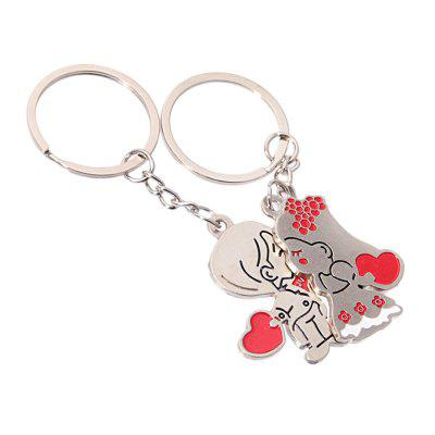 Stylish Love Kissing Couple Married Metal Keychain SouvenirKey Chains<br>Stylish Love Kissing Couple Married Metal Keychain Souvenir<br><br>Design Style: Fashion, Romantic<br>Gender: Boys,Girls<br>Materials: Zinc Alloy<br>Package Contents: 2 x Love Keychain<br>Package size: 8.00 x 8.00 x 5.00 cm / 3.15 x 3.15 x 1.97 inches<br>Package weight: 0.0700 kg<br>Product size: 3.30 x 3.00 x 1.00 cm / 1.3 x 1.18 x 0.39 inches<br>Product weight: 0.0500 kg<br>Theme: Other
