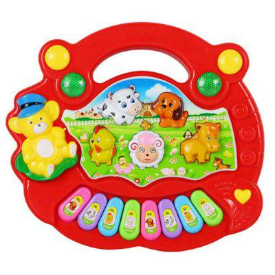 Musical Instrument Baby Kids Cartoon Piano Learning Education Toys