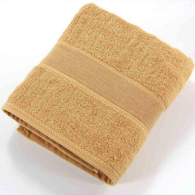 Solid Color Soft Cotton Face Towel For Adults Thick Bathroom Super Absorbent