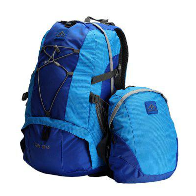 PolarFire Backpack Set 40L Water-Resistant Anti-Tearing Outdoor Bag for Camping Hiking Travelling