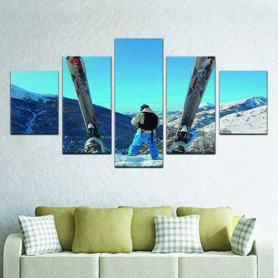 MailingArt FIV589  5 Panels Sports Wall Art Painting Home Decor Canvas PrintPrints<br>MailingArt FIV589  5 Panels Sports Wall Art Painting Home Decor Canvas Print<br><br>Craft: Print<br>Form: Five Panels<br>Material: Canvas<br>Package Contents: 5 x Print<br>Package size (L x W x H): 28.00 x 6.00 x 6.00 cm / 11.02 x 2.36 x 2.36 inches<br>Package weight: 0.2000 kg<br>Painting: Without Inner Frame<br>Shape: Horizontal Panoramic<br>Style: Office / Business, Modern / Contemporary, Realism, Landscape, City View<br>Subjects: Sports<br>Suitable Space: Living Room,Bedroom,Dining Room,Office,Hotel,Cafes,Kids Room,Kitchen,Hallway,Kids Room,Study Room / Office