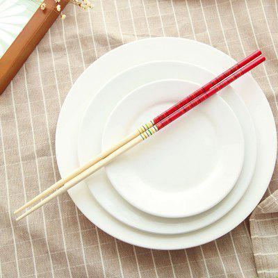 Buy DIHE Lengthen Lo Mein Hot Pot Exclusive Use Bamboo Chopsticks RED for $1.39 in GearBest store