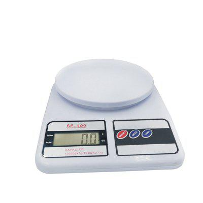 Digital Kitchen Scale for Cooking and Baking with 10 KG Capacity 1G Accuracy