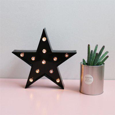 LED Star Night Light Table Lamp for Kids Children Gift Party Wedding Room Decoration itimo usb lamp for baby children universe starry star moon rotation projector led night light novelty lamp birthday gift magic