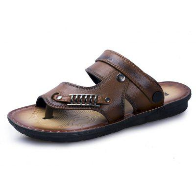 Simple Style Breathable Casual Sandles For Men