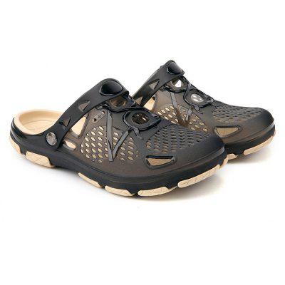 Casual Breathable Simple Style Sandals For MenMens Sandals<br>Casual Breathable Simple Style Sandals For Men<br><br>Available Size: 40,41,42,43,44<br>Embellishment: None<br>Gender: For Men<br>Outsole Material: PVC<br>Package Contents: 1xShoes(pair)<br>Pattern Type: Others<br>Season: Summer, Spring/Fall<br>Slipper Type: Outdoor<br>Style: Sport<br>Technology: Adhesive<br>Upper Material: PVC<br>Weight: 1.0800kg