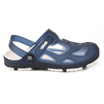 Casual Simple Style Breathable Sandals For MenMens Sandals<br>Casual Simple Style Breathable Sandals For Men<br><br>Available Size: 40,41,42,43,44<br>Closure Type: Slip-On<br>Embellishment: None<br>Gender: For Men<br>Heel Hight: 1.5CM<br>Occasion: Casual<br>Outsole Material: PVC<br>Package Contents: 1xShoes(pair)<br>Pattern Type: Others<br>Sandals Style: Slides<br>Style: Fashion<br>Upper Material: PVC<br>Weight: 1.2000kg