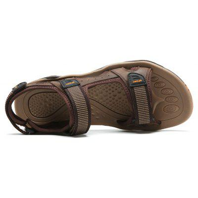 Head Layer Cowhide Simple Style Breathable Sandals For MenMens Sandals<br>Head Layer Cowhide Simple Style Breathable Sandals For Men<br><br>Available Size: 39,40,41,42,43,44<br>Closure Type: Hook / Loop<br>Embellishment: None<br>Gender: For Men<br>Heel Hight: 2CM<br>Occasion: Casual<br>Outsole Material: Rubber<br>Package Contents: 1xShoes(pair)<br>Pattern Type: Others<br>Sandals Style: Ankle-Wrap<br>Style: Sport<br>Upper Material: Genuine Leather<br>Weight: 1.2000kg
