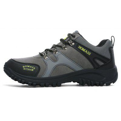 Men Casual Wear Outdoor Climbing Breathable ShoesAthletic Shoes<br>Men Casual Wear Outdoor Climbing Breathable Shoes<br><br>Available Size: 38-45<br>Closure Type: Lace-Up<br>Embellishment: None<br>Gender: For Men<br>Outsole Material: Rubber<br>Package Contents: 1xShoes(pair)<br>Pattern Type: Solid<br>Season: Spring/Fall<br>Toe Shape: Round Toe<br>Toe Style: Closed Toe<br>Upper Material: Leather<br>Weight: 1.2000kg