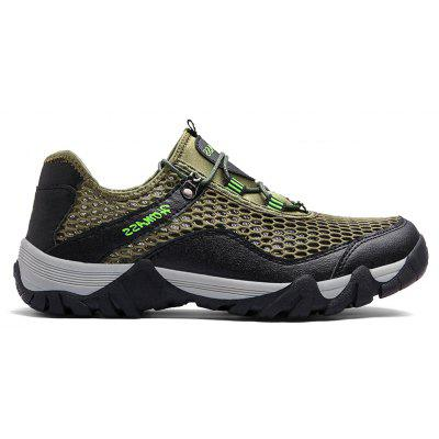 Men Casual Hiking Wear Water Outdoor Mesh Climbing Breathable ShoesAthletic Shoes<br>Men Casual Hiking Wear Water Outdoor Mesh Climbing Breathable Shoes<br><br>Available Size: 39-44<br>Closure Type: Lace-Up<br>Embellishment: None<br>Gender: For Men<br>Outsole Material: Rubber<br>Package Contents: 1xShoes(pair)<br>Pattern Type: Solid<br>Season: Spring/Fall<br>Toe Shape: Round Toe<br>Toe Style: Closed Toe<br>Upper Material: Nylon<br>Weight: 1.2000kg