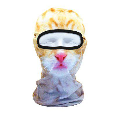 3D Animal Style Breathable Face Mask for Outdoor Sports Motorcycle Cycling Snowboard Hunting