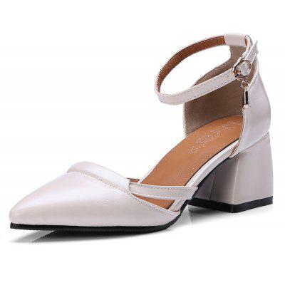 Pointed  Rough The All-Match Fashion Women's Sandals