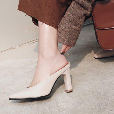 The New 18-17 Square High-Heeled Sandals With Coarse All-Match Womens SandalsWomens Sandals<br>The New 18-17 Square High-Heeled Sandals With Coarse All-Match Womens Sandals<br><br>Available Size: 32-43<br>Closure Type: Slip-On<br>Gender: For Women<br>Heel Type: Chunky Heel<br>Occasion: Casual<br>Package Content: 1 x Shoes(pair)<br>Pattern Type: Solid<br>Sandals Style: Slides<br>Style: Fashion<br>Upper Material: PU<br>Weight: 0.8320kg