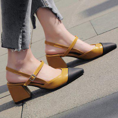 New Sharp Heel Female SandalsWomens Sandals<br>New Sharp Heel Female Sandals<br><br>Available Size: 34-43<br>Closure Type: Buckle Strap<br>Gender: For Women<br>Heel Type: Others<br>Occasion: Casual<br>Package Content: 1 x Shoes(pair)<br>Pattern Type: Patchwork<br>Sandals Style: Ankle Strap<br>Style: Fashion<br>Upper Material: PU<br>Weight: 0.8320kg