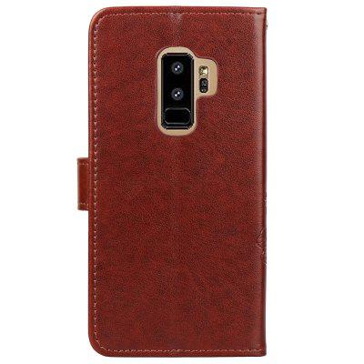 Flip Case for Samsung Galaxy S9 Plus Leahter Wallet Bag Soft Silicone Back CoverSamsung S Series<br>Flip Case for Samsung Galaxy S9 Plus Leahter Wallet Bag Soft Silicone Back Cover<br><br>Features: Full Body Cases, With Credit Card Holder, Anti-knock<br>For: Samsung Mobile Phone<br>Material: PU Leather, TPU<br>Package Contents: 1 x Phone Case, 1 x Rope<br>Package size (L x W x H): 16.50 x 8.50 x 1.50 cm / 6.5 x 3.35 x 0.59 inches<br>Package weight: 0.0760 kg<br>Product weight: 0.0750 kg<br>Style: Special Design, Cool