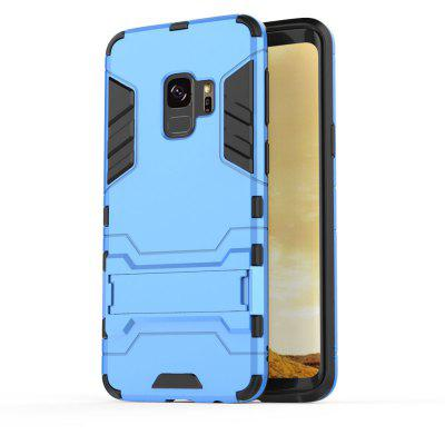 Silicone PC Armor Kickstand Case for Samsung Galaxy S9 cute 3d girl style protective silicone back case for samsung galaxy note 3 n9000 green