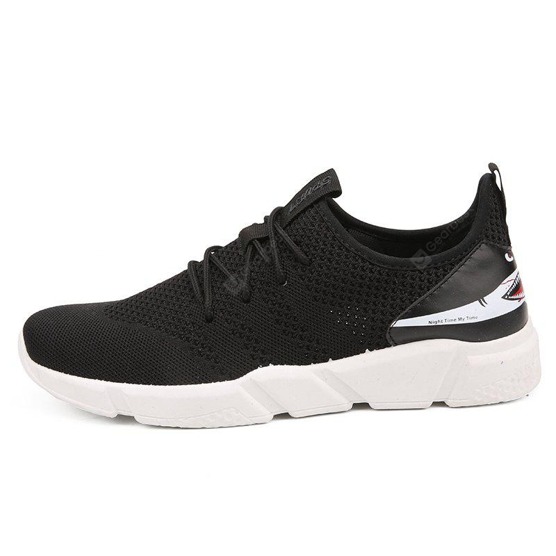 2018 Men's Fashion Trend Shark's Mouth Flying Shoes