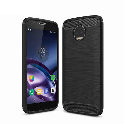 For Motorola Moto X Plus Cover Carbon Fiber Luxury Silicone Soft Texture Back Phone Cases